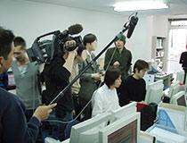 NHK取材の様子その1
