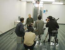 NHK取材の様子その3