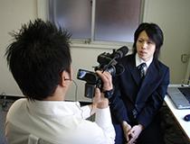 テレビ神奈川取材の様子その3