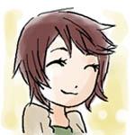 ミワの似顔絵です。